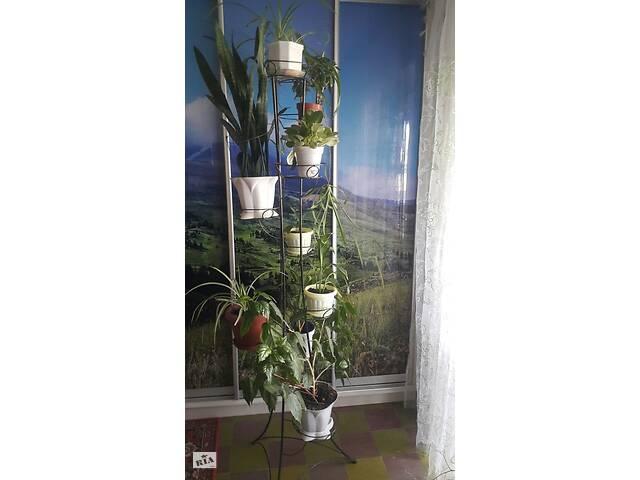 купить бу Подставка, стойка для цветов на 9 вазонов. в Северодонецке