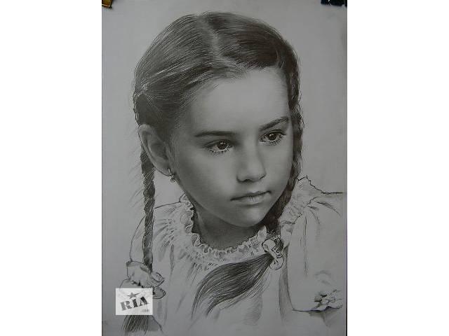 купить бу Портрет, нарисовать, на заказ, по фото, недорого, карандаш, Украина в Харькове