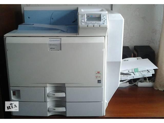 продам Продается цветной лазерный принтер формата А3 Gestetner SPC811dn (аналог Ricoh Aficio SP C811DN) для минитипографий бу в Николаеве