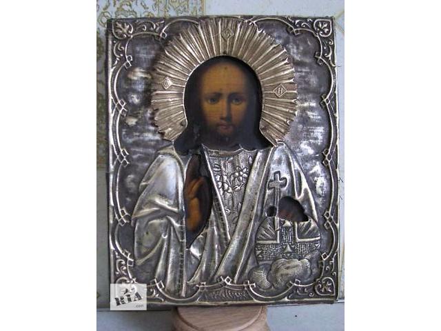 бу Продам антикварную икону Господь Вседержитель в Киеве