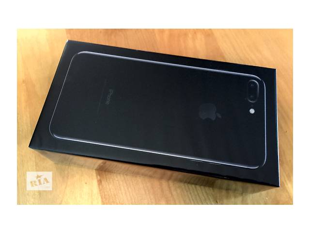 бу Продам Apple iPhone 7 Pluse 256Gb Jet Black  Новый телефон. в Одессе