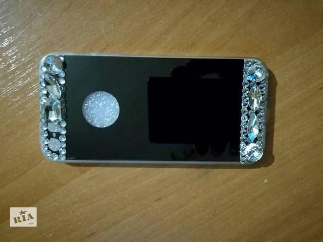 бу Продам чехол с зеркалом на задней крышке iPhone 5s в Черкассах