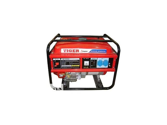 продам Продам Генератор бензиновый Tiger  EC-6500 (5.5 кВт) бу в Макарове