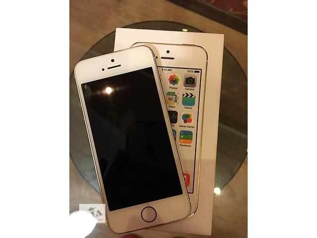 бу Продам iPhone 5s gold 16 gb в Одессе