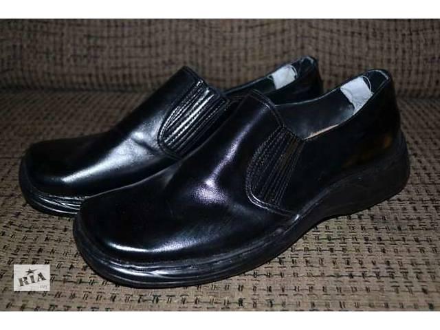 бу Продам ортопедические туфли мужские новые, черные ,кожаные в Северодонецке