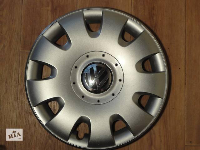 Продам Оригинальные колпаки на колеса Volkswagen Golf 5 R15 Фольксваген Гольф 5 R15 Оригинал 1Т0 601 147- объявление о продаже  в Киеве