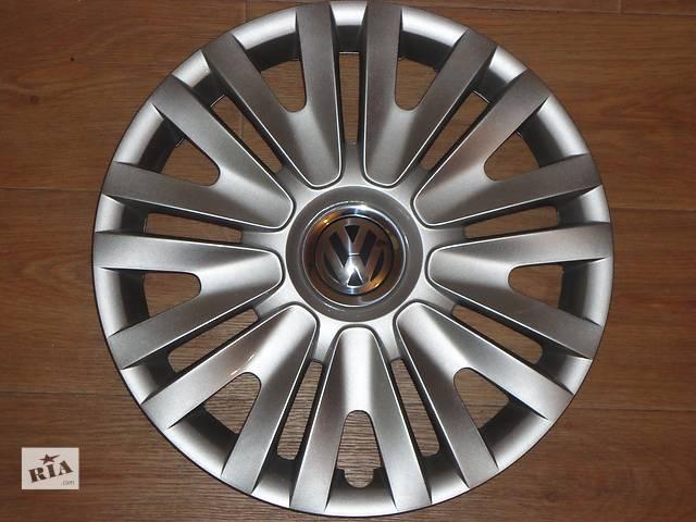 бу Продам Оригинальные колпаки на колеса Volkswagen Golf 6 R15 Фольксваген Гольф 6 R15 Оригинал 5K0 .601.147F в Киеве
