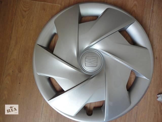Продам Оригинальные колпаки Seat Ibiza Сеат Ибица R 15/2012г Оригинал 6JA 601 147 C- объявление о продаже  в Киеве