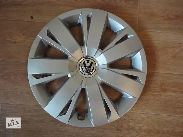 купить бу Продам Оригинальные колпаки Volkswagen Jetta 6 R16 ФольксВаген Джетта 6 R16 Оригинал 5C0.601.147.A в Киеве