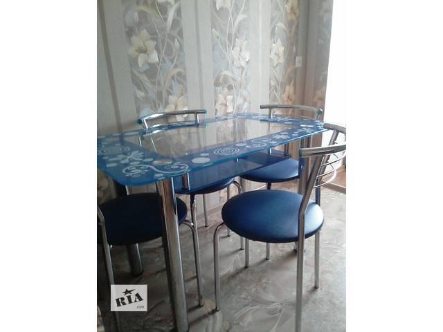 купить бу Продам стол, стульчики в Вараше (Кузнецовск)