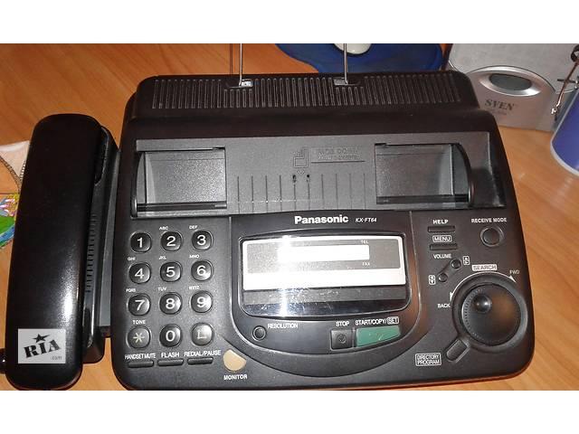 бу Продам телефон-факс Panasonic KX-FT64 в Киеве