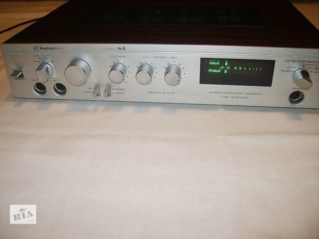 продам Продам усилитель Radiotehnika У101 hi-fi + колонки 10МАС-1М бу в Чернигове