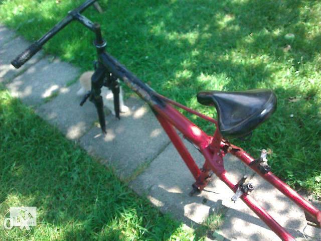 Продам велосипедную раму частично в сборе немецкого производства- объявление о продаже  в Ивано-Франковске