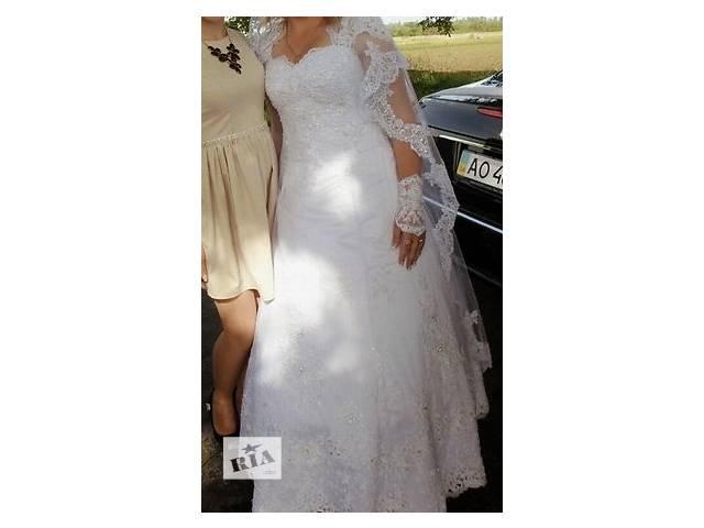 продам Продам свадебное платье бу в Хусте