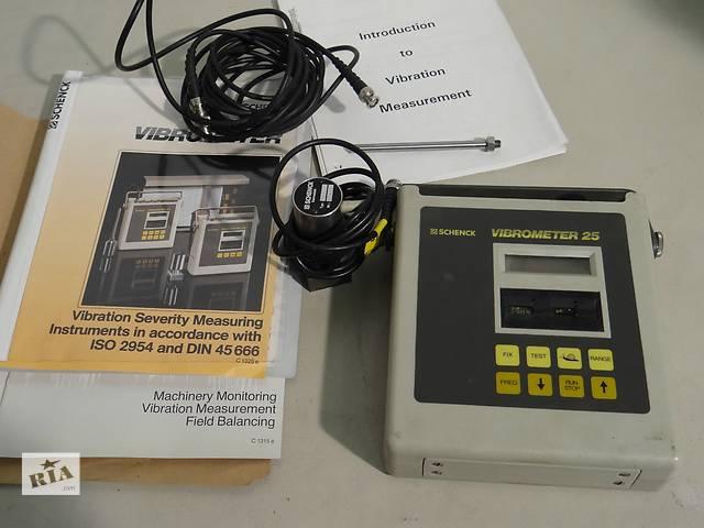 Продам виброметр, измеритель вибрации, Schenck 25 (Германия)- объявление о продаже  в Киеве