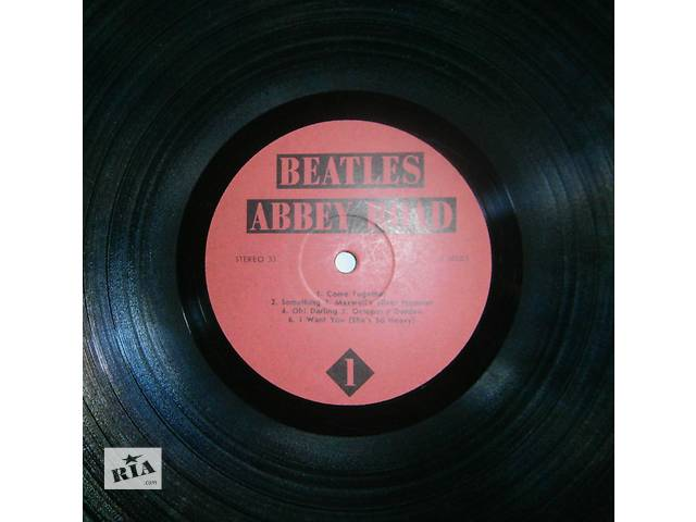 Продам виниловые пластинки BEATLES- объявление о продаже  в Харькове