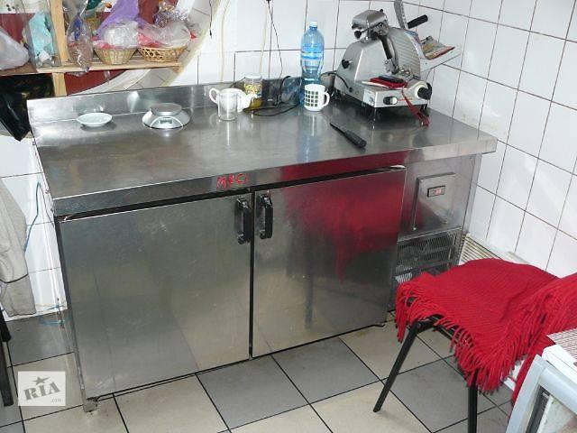 Продам холодильный стол б/у на две двери  для кафе, баров, ресторанов- объявление о продаже  в Киеве