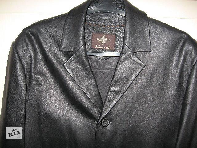 Продам кожаный кардиган- объявление о продаже  в Ирпене