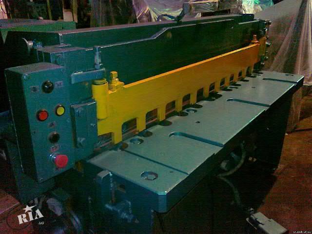 Продам ножницы гильотинные НК3418 2000-6,3 мм с компрессором после ремонта