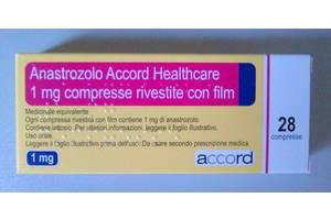 Анастрозол табл. п/о 1 мг №28 Anastrozole Киев