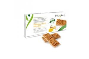 Батончик энергетический со вкусом тропических фруктов, bodykey от NUTRILITE 14 батончиков в упаковке