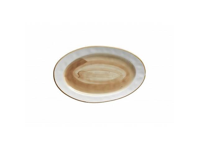 """Блюдо овальное Country 12"""" 30х18 см светло-коричн. FB3702LB-12CS- объявление о продаже  в Чернигове"""
