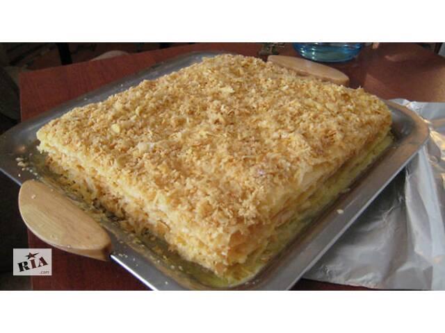 купить бу Домашний торт Наполеон на заказ  в Украине