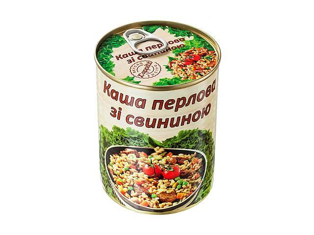 купить бу Каша перловая со свининой L'appetit 340 г (4820021840418) в Киеве