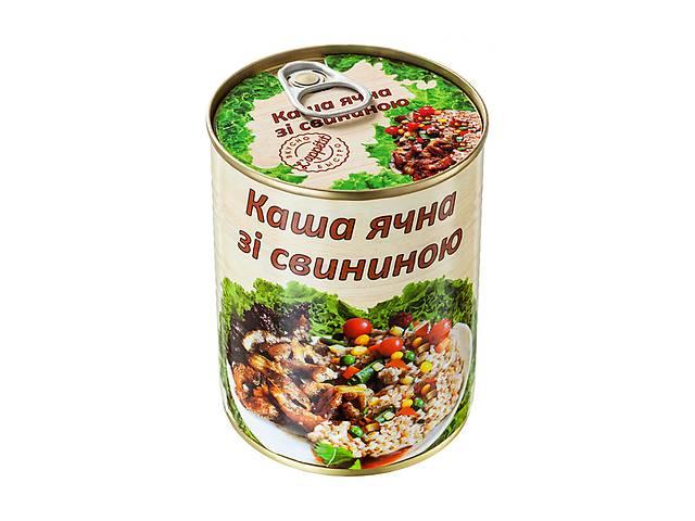 купить бу Каша ячневая со свининой L'appetit 340 г (4820177070158) в Киеве