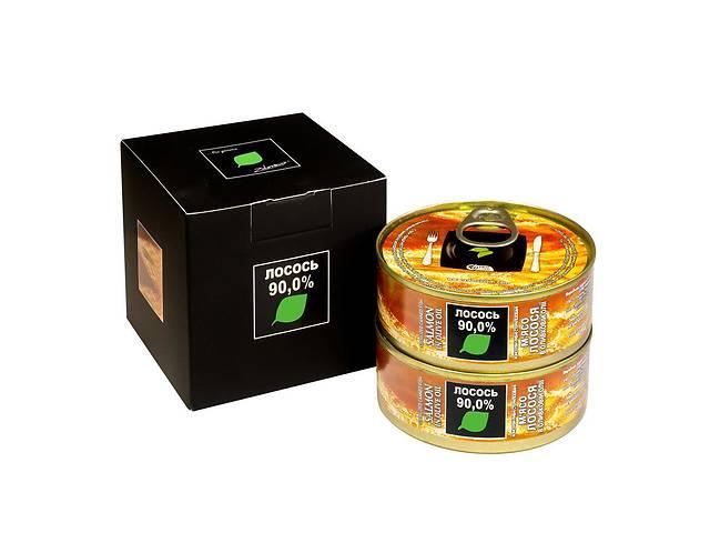 продам Мясо лосося Zdorovo в оливковом масле 2 х 100 г (4820184610811) бу в Киеве