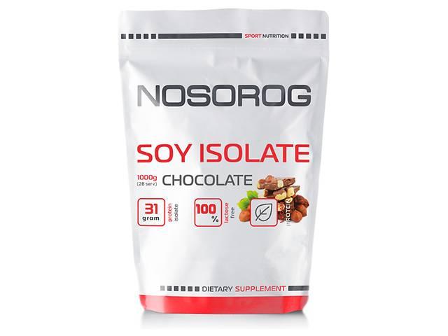 купить бу Nosorog Soy Isolate Protein шоколад, 1 кг в Мариуполе