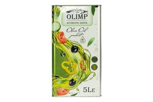 Оливковое масло EXTRA VIRGIN OLIVE OIL Olimp Green Label 5л