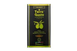 Оливковое масло EXTRA VIRGIN OLIVE OIL Terra Gusto Delicato Ultra Premium 5 л.