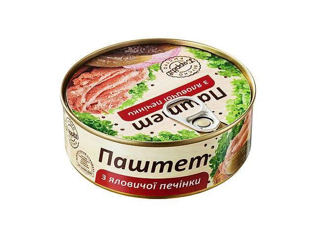 продам Паштет L'appetit из говяжьей печени 240 г (4820177070042) бу в Киеве