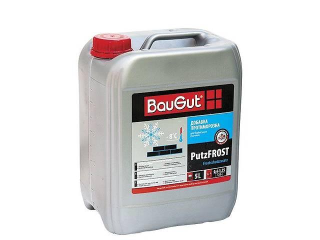 продам Противоморозная добавка BauGut PutzFROST 5 л бу в Одессе