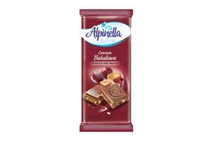 Шоколад Alpinella Молочный с орехом и изюмом 90г