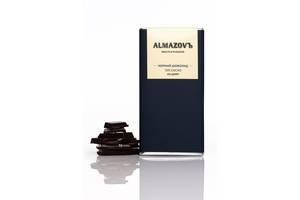 Шоколад черный 72%, 80 г, без сахара, Almazovъ