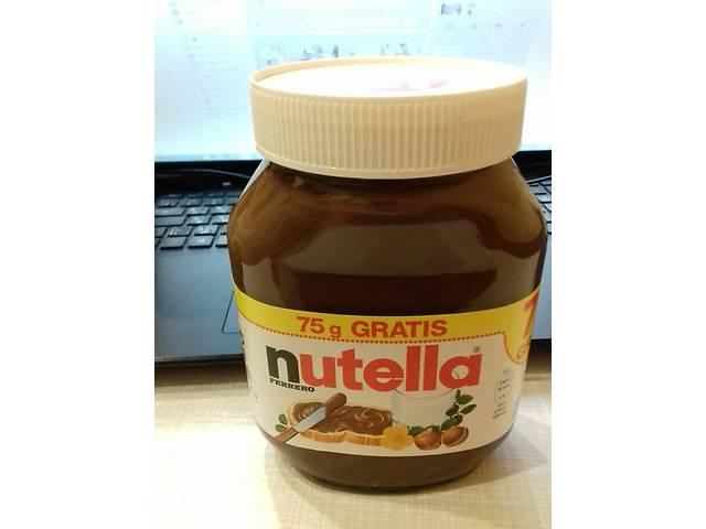 купить бу Шоколадная крем паста Нутелла Nutella 825г, Choco Duo 750г (зебра) в Киеве