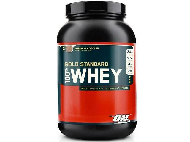 купить бу Сывороточный протеин Optimum Nutrition 100% Whey Gold Standard, 909 г клубника+банан в Полтаве