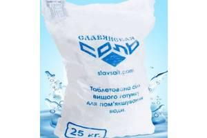 Таблетированная соль для фильтров систем очистки воды