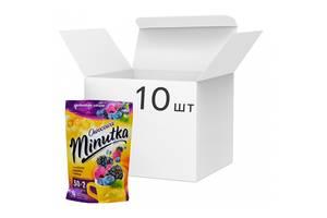 Упаковка ягодного чая Minutka Ежевика, черника и малина 32 пакетика*10 шт