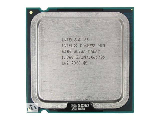 купить бу Процессор 775 Intel Core 2 Duo E6300 2x1,86 GHz 1066 FSB в Краматорске