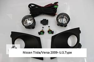 Новые Фары противотуманные Nissan TIIDA