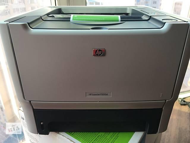 купить бу Принтер LaserJet P2015d в Киеве