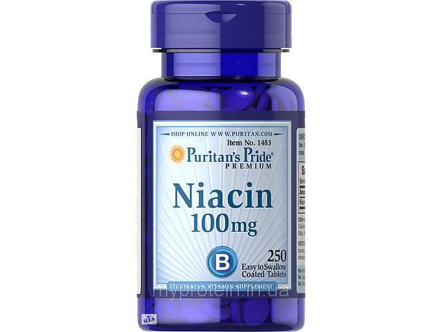 продам Puritan's Pride Ниацин Niacin 100 mg (100 tabs) Art. mypr-265214137 бу в Киеве