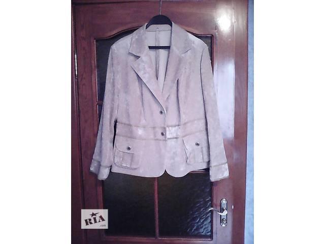 Пиджак женский, искусственный вельвет, р.56- объявление о продаже  в Сумах