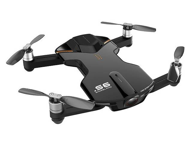 бу КВАДРОКОПТЕР WINGSLAND S6 GPS 4K POCKET DRONE-2 BATTERIES PACK BLACK в Одессе
