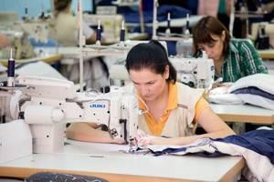 Работа в Польше. Швея 15 злотых/час нетто. Швейная фабрика по пошиву подушек, одеял и чехлов на матрас