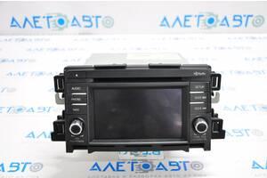 Радио магнитфон монитор проигрыватель Mazda6 13-15 usa GJS2-66-DV0B разборка Алето Авто запчасти Мазда 6