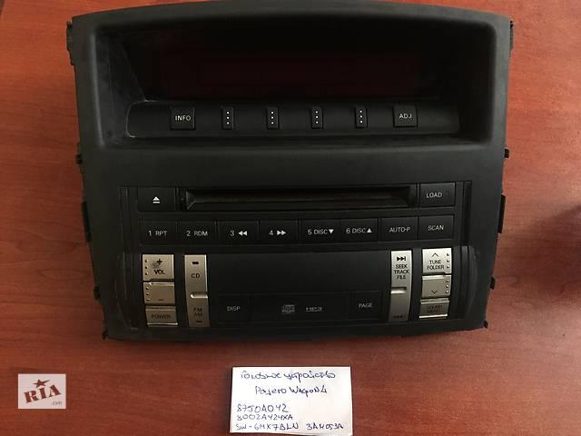 продам Радио и аудиооборудование  Mitsubishi Pajero Wagon 8750a042  8002a424xa бу в Одессе